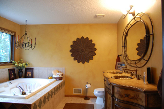 Your bathroom can be more than just a room of necessity; it can be an oasis.