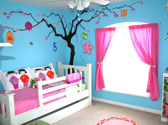 Painting Kids Rooms | Hirshfield's Color Club
