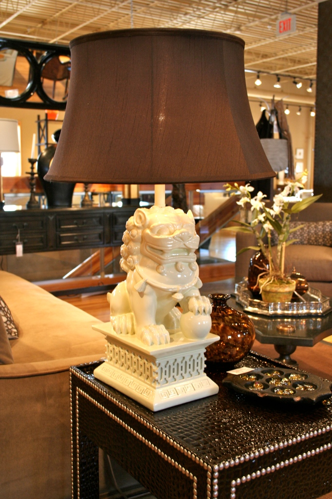Friday Finds Foo Dog Lamps Hirshfield S Color Club