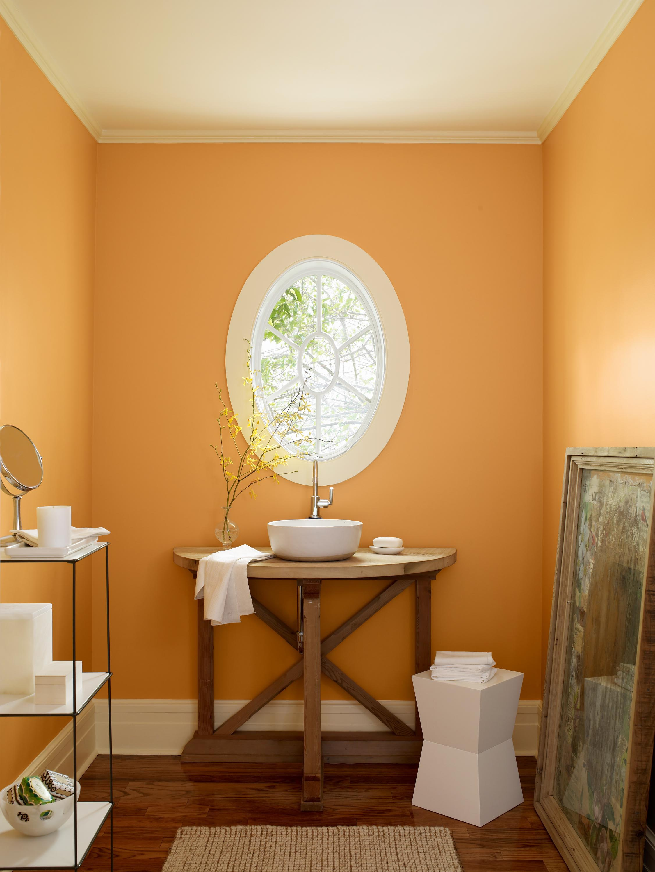 Fresh colors for home and fashion hirshfield 39 s color club for Saffron yellow paint color