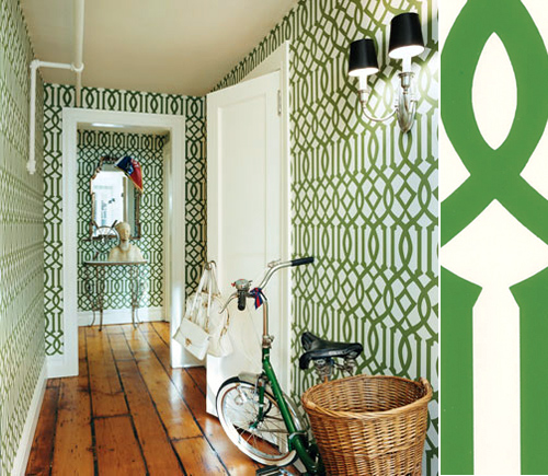 Trellis Wallpaper For Walls: {friday Finds: Imperial Trellis By Schumacher