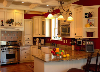 Kitchen Design Colors on Painted Kitchens   Hirshfield S Color Club