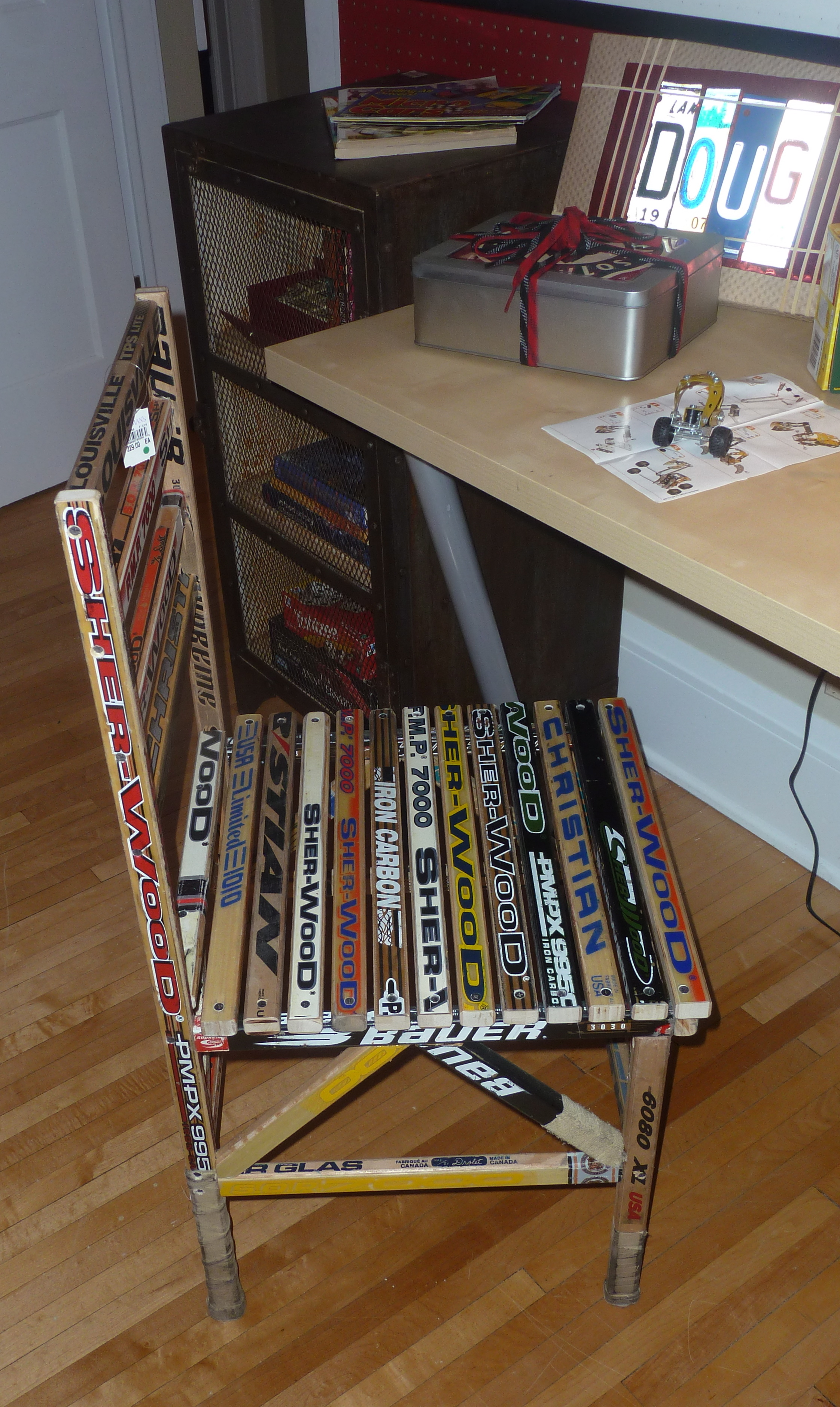 wooden hockey stick furniture plans pdf plans