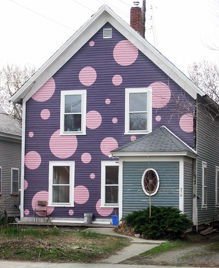 Polka Dot Houses Hirshfield 39 S Color Club