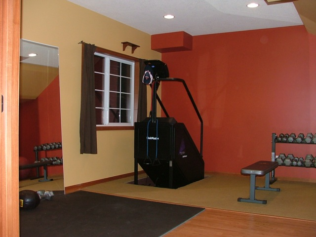 Colors for your basement hirshfield 39 s color club for Workout room colors