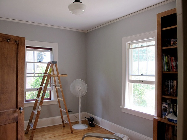 Harbor gray ac 25 hirshfield 39 s color club Touch of grey benjamin moore