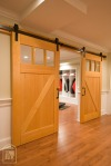 Man Cave Carriage Doors