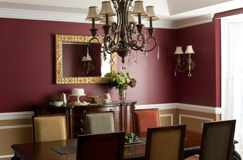 Feast Your Eyes Gorgeous Dining Room Decorating Ideas: Hirshfield's Color Club
