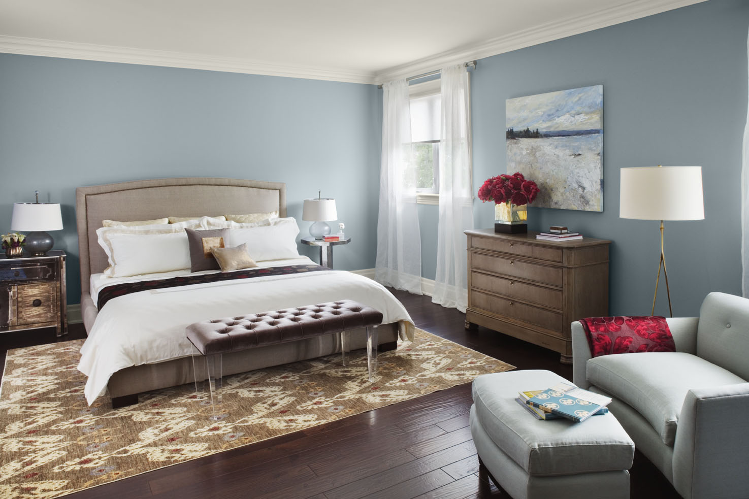 Benjamin Moore Nimbus Gray Paint Color 1475 x 983