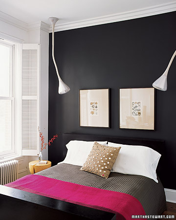 Martha Stewart accent wall