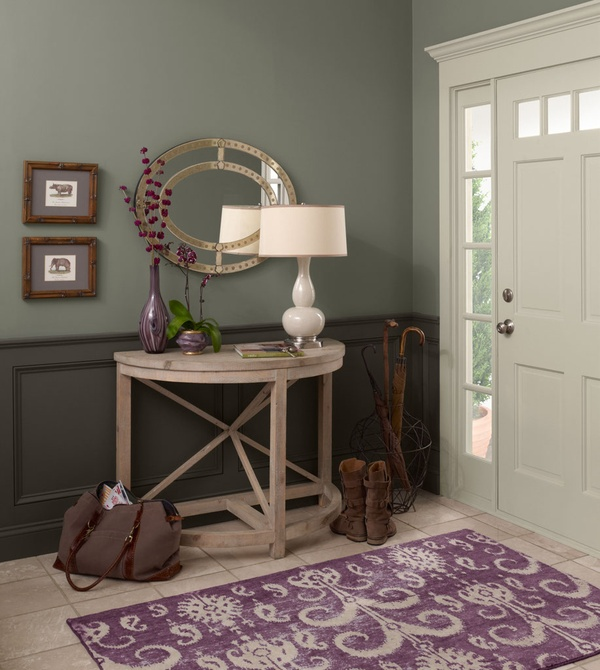 Hirshfield S Color Club: {tips For Lightening And Brightening A Dark Space ...