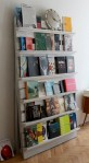 Love this creative storage idea, re-purpose wood pallets into shelving. Via Apartment Therapy.