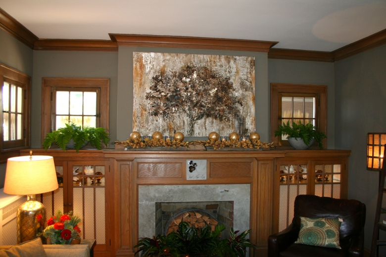 Bachman s fall ideas house 2012 hirshfield 39 s color club for Interior paint colors with wood trim