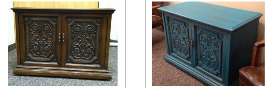 The before and after of a project that some Hirshfield's team members worked on