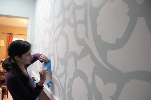 painters tape design