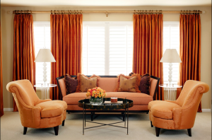 off-center window treatments