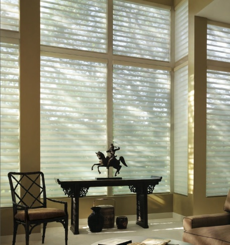 Silhouette window treatment by Hunter Douglas