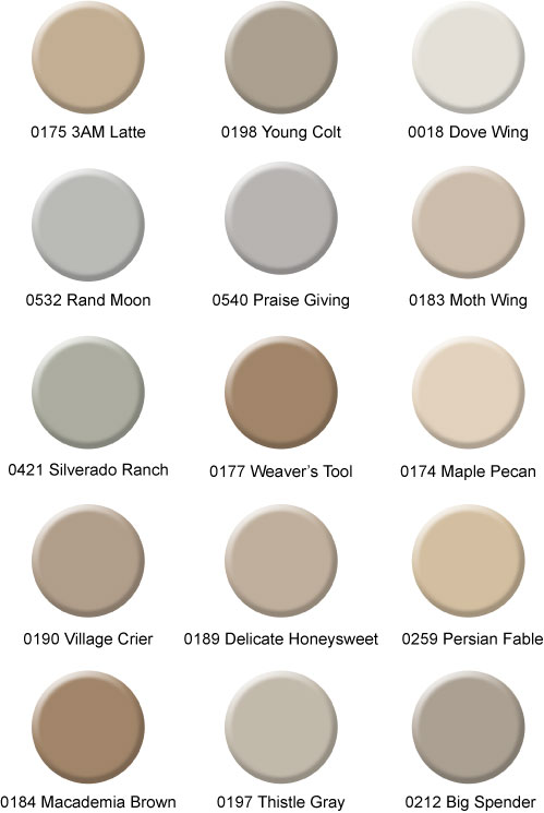 Friday finds top 15 hirshfield s paint colors 2014 for Best selling neutral paint colors