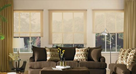 Window treatment Wednesday: Screen shades.