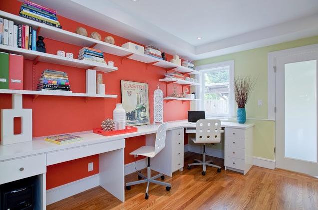 Melissa Lenox Design home office