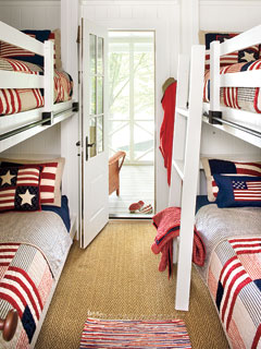 patriotic kids' room
