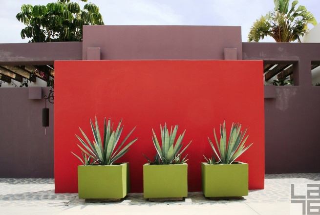 red wall mexico