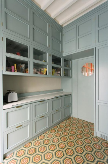 Painted Butler's Pantry
