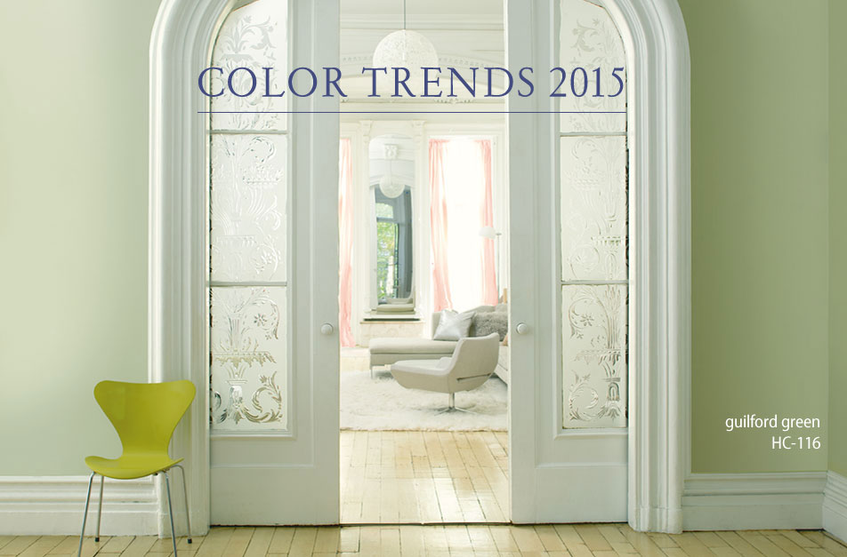 Benjamin moore 2015 color of the year hirshfield 39 s Paint color of the year