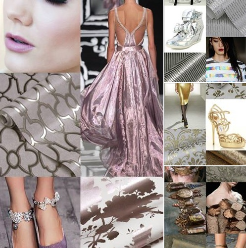 Hirshfield S Color Club: {wallpaper Wednesday: Reflective Glamour For Your Walls ...