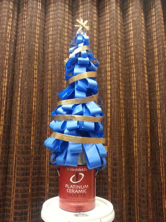 3-M Scotch Blue Painters Tape Christmas Tree