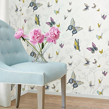 Butterfly wallpaper by Anna French