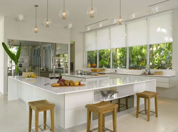 Silhouette Shades Elle Decor Modern Concept House Kitchen