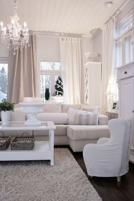 layering whites in a room