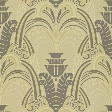 Tivoli Wallpaper Old Gold Zoffany
