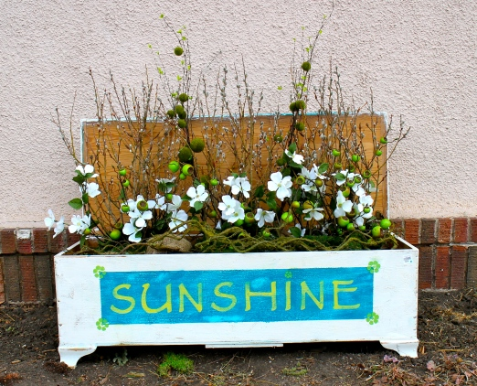 Repurposed Sunshine Chest