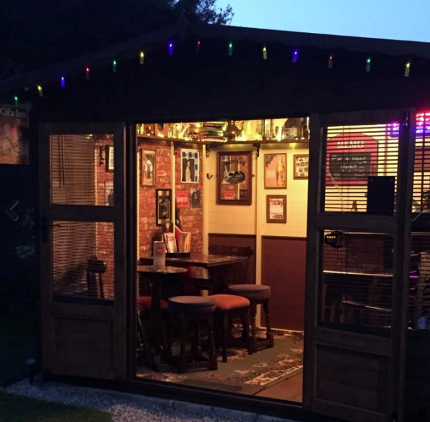 Bar Shed - http://www.readersheds.co.uk/