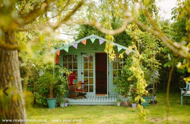 Caribbean Moroccan Retreat  Shed