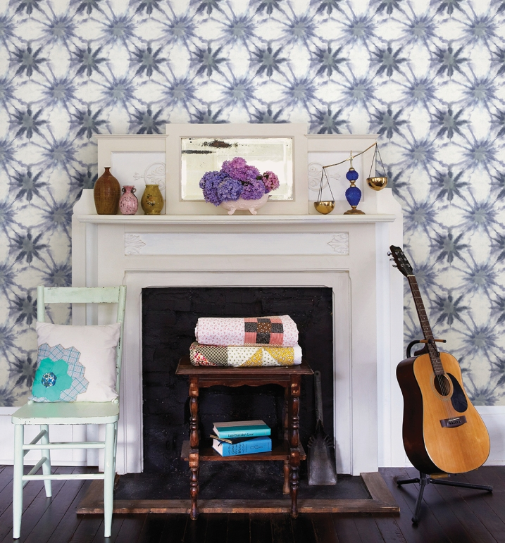 {wallcovering Wednesday: Bohemian Rhapsody}