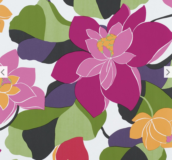 Hirshfield S Color Club: {wallcovering Wednesday: Large Floral Prints For Spring