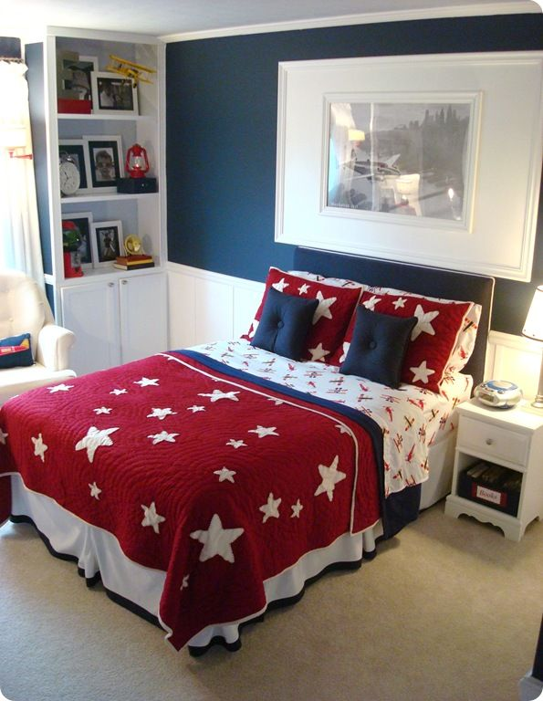 Patriotic Bedding - Thrifty Decor Chick