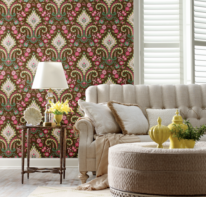 Isham Indienne - YORK Wallcoverings