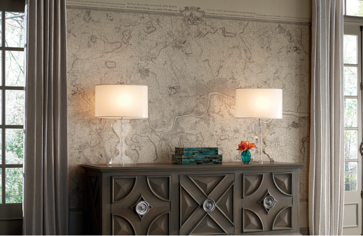 London Map Mural - YORK Wallcoverings