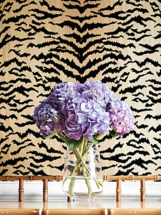 Tiger Flock - Thibaut Design