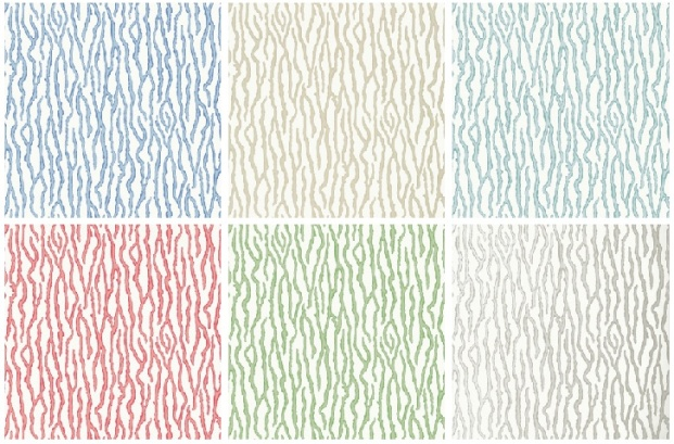 Barrier wallcovering pattern