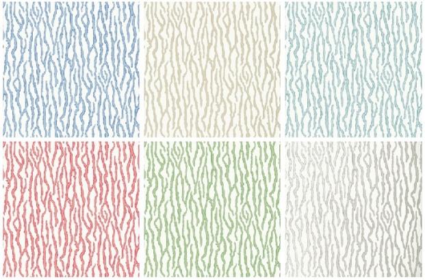 Barrier wallcovering pattern