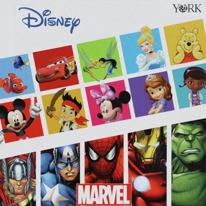 Disney Collection available in Sure Strip®