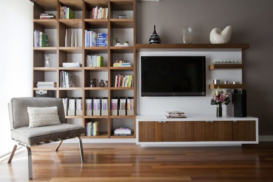 Blended With Bookcases | Evelyn Lee's Sustainable Starter Apartment