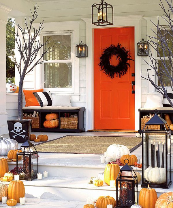 Halloween Porch | Home Accents New