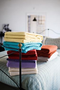 Faribault Woolen Mill blankets