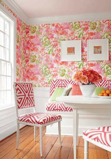 Waterford Floral | Bridgehampton from Thibaut Design